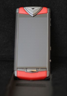 Vertu Touch Pure Black Red Leather Mới 100% Fullbox