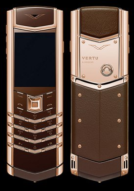 Vertu Signature S Pure Chocolate Rose Gold mới 100% fullbox