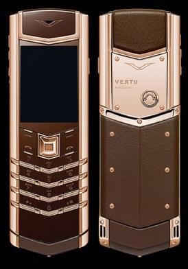 Vertu Signature S Pure Chocolate Rose Gold mới 100% fullbox