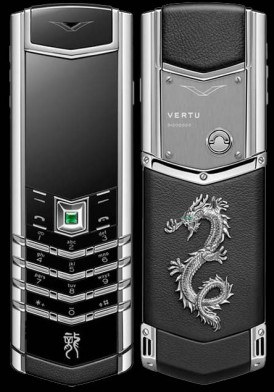 Vertu Signature S Dragon Silver Đã Sử Dụng