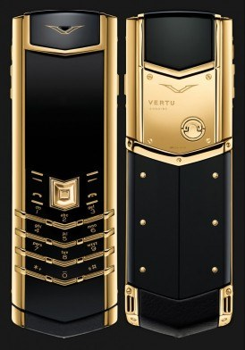 Vertu Signature S Yellow Gold mới 100% fullbox