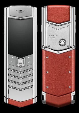 Vertu Signature S Red Calf Mới 100% Fullbox