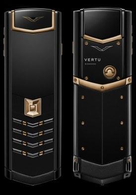 Vertu Signature S Red Gold Ulimate Black DLC Mới 100% Fullbox