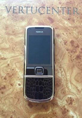 Nokia 8800 Gold Da Cá Sấu