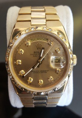 Đồng hồ Rolex 18038 Diamond