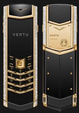 Vertu Signature S Gold Diamond Mới 100% fullbox