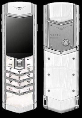 Vertu Signature S Lady Mother of Pearl Diamond Mới 100% Fullbox