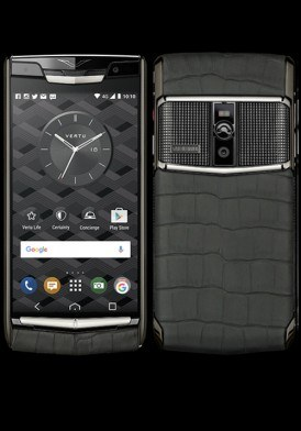 Vertu New Signature Touch Clous de Paris Alligator Mới 100% Fullbox