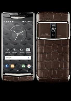 Vertu New Signature Touch Cocoa Alligator Mới 100%