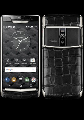Vertu New Signature Touch Jet Alligator Mới 100% Fullbox