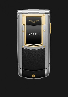 Vertu Ayxta Black Yellow Gold Ceramic Keys Full Box Mới 100%