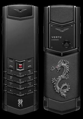 Vertu Signature S Dragon Black đã sử dụng