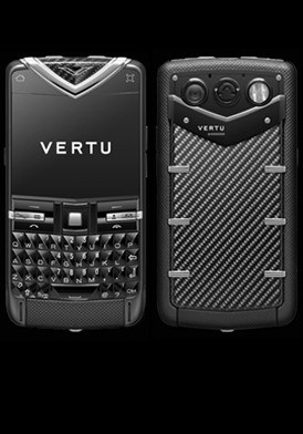 Vertu Constellation Quest Black Stainless Carbon Carousel Đã Sử Dụng