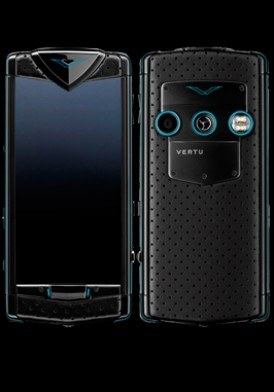 Vertu Constellation T Black Neon Blue Mới 100% Fullbox