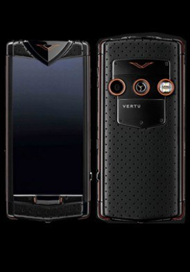 Vertu Constellation T Black Neon Orange Mới 100% Fullbox