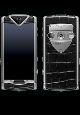 Vertu Constellation T Polished Stainless Steel Black Mới 100% Fullbox
