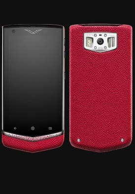 Vertu Extraordinary Gemstone Rose Ruby mới 100% Fullbox