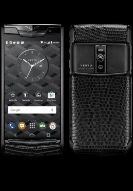 Vertu New Signature Touch Pure Jet Lizard mới 100% fullbox