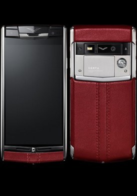 Vertu Signature Touch Claret Leather mới 100% fullbox
