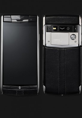 Vertu Signature Touch Jet Leather mới 100% fullbox