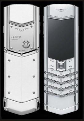 Vertu Signature S Design Pure White Mới 100% Full Box