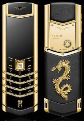 Vertu Signature S Dragon Gold Đã Sử Dụng