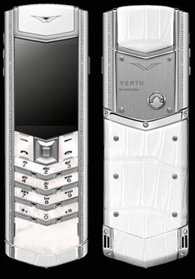Vertu Signature S Lady Mother of Pearl Diamond Đã Sử Dụng