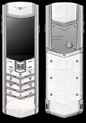 Vertu Signature S Lady Mother of Pearl Diamond Đã Sử Dụng