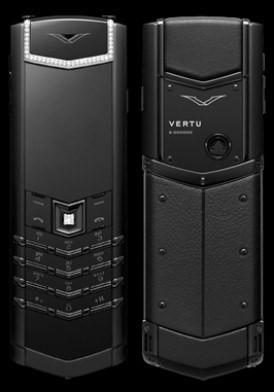 Vertu Signature S Pure Black Diamonds Mới 100% Full Box