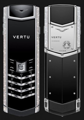 Vertu Signature S White Gold Diamond Bag Keys Đã Sử Dụng