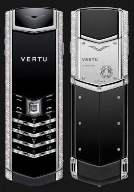 Vertu Signature S White Gold Diamond Bag Keys Đã Sử Dụng