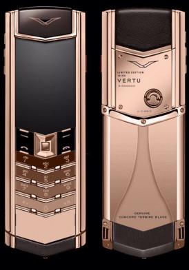 Vertu Signature S Concord Rose Gold Bespoke Limited Đã Sử Dụng