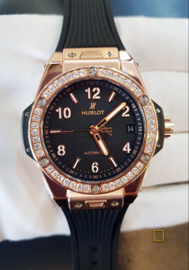 Hublot Big Bang One Click King Gold Diamonds 39mm Đã Sử Dụng