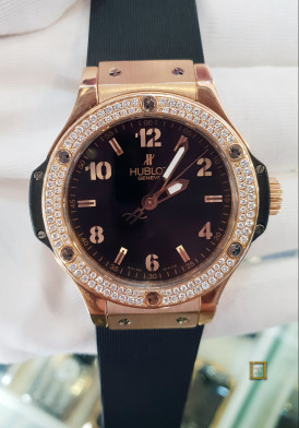 Hublot Big Bang Rose Gold Diamond 38mm Đã Sử Dụng