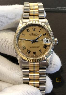 Rolex vàng 3 mầu 31mm