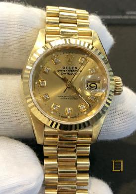 Rolex vang khoi nu 26mm