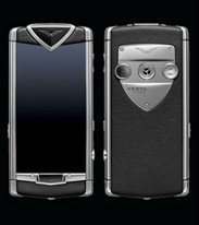 Vertu Constellation Touch Black Leathe