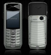 Vertu Ascent X 2010 Aluminium Black Rubber