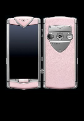 Vertu Touch Pink Leather Mới 100% Fullbox