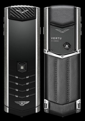 Vertu Signature S For Bentley Mới 100% Fullbox