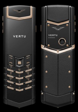 Vertu Signature S Precious Black Red Gold Mixed Metals Mới 100% Fullbox