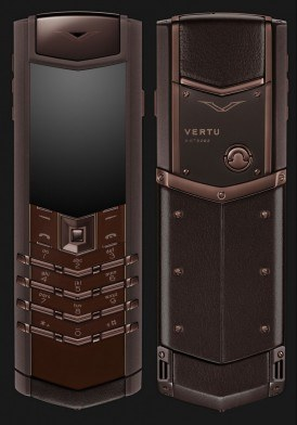 Vertu Signature S Pure Chocolate Mới 100% Fullbox