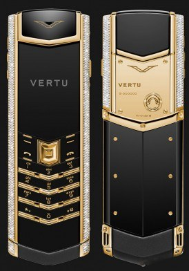 Vertu Signature S Gold Diamond Mới 100% fullbox