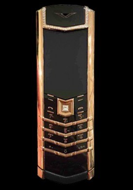 Vertu Signature S Rose Gold Diamond Mới 100% Fullbox