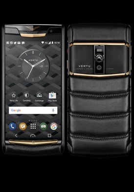 Vertu New Signature Touch Pure Jet Red Gold Mới 100% Fullbox