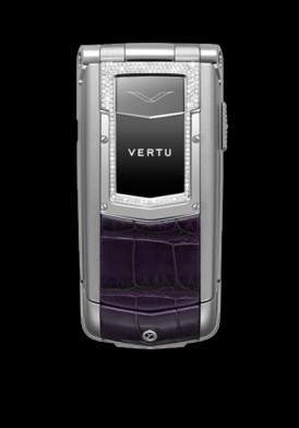 Vertu Ayxta Purple Sapphire Key Alligator Diamond Limited mới 97% Đã Sử Dụng