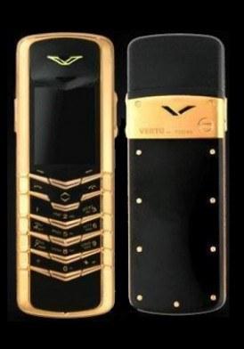 Vertu Signature Rose Gold đã sử dụng