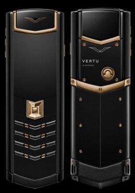 Vertu Signature S Red Gold Black DLC đã sử dụng