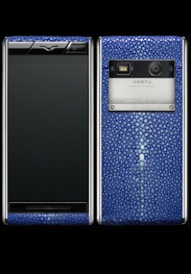 Vertu Aster Stingray Blue Mới 100% Fullbox