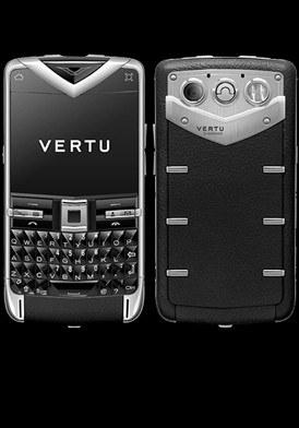 Vertu Quest Stainless Black Sapphire Đã Sử Dụng